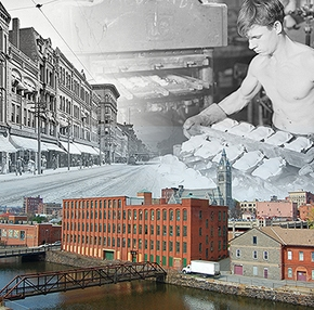 "* SPRING 2016 ""The Immigrant City"" exhibition at Wistariahurst Museum in Holyoke"